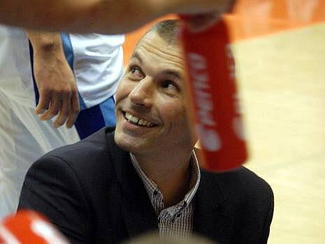 Trenér Prostějova Zbyněk Choleva