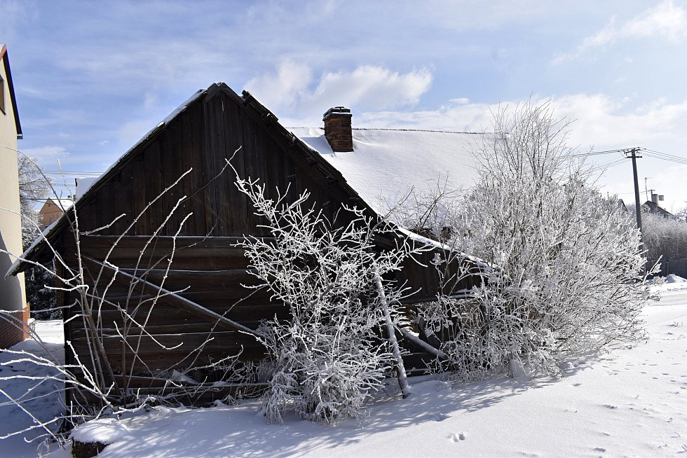 Chátrající zemědělská usedlost v Drahanech se stala kulturní památkou.