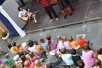 Z prvního ročníku divadelního festivalu v Konici