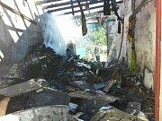 Požár v Lutotíně
