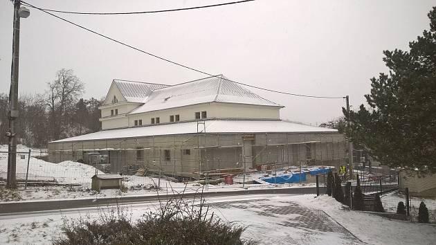 Rekonstrukce budovy bývalé sokolovny
