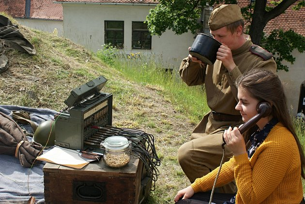 Dětský den sKluby vojenské historie na plumlovském zámku - 6.6.2020