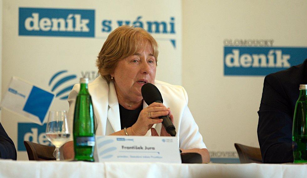 Náměstkyně primátora Alena Rašková