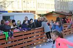 Otevření kluziště na prostějovském náměstí, 8.11. 2019