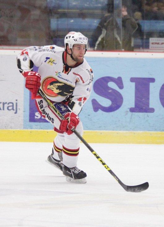 Prostějovští hokejisté se v sobotu na domácím ledě utkali s lídry první ligy kladenskými Rytíři. Patrik Husák