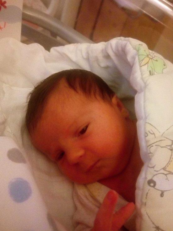 Anna Bardoňová, Uničov, narozena 9. října 2020, míra 51 cm, váha 4000 g