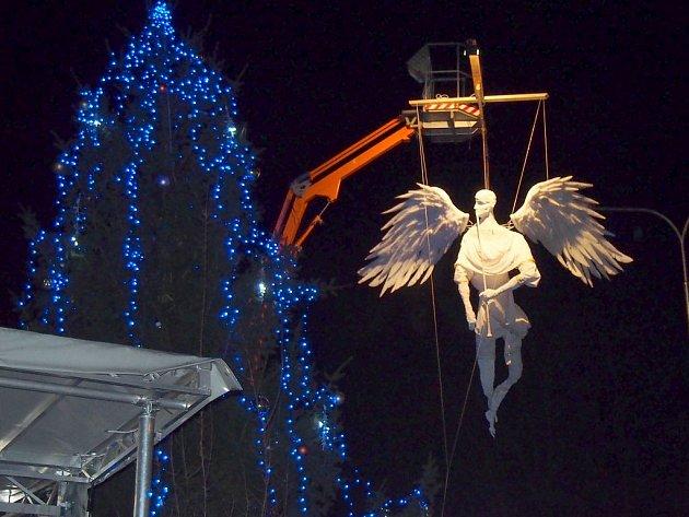 Čtyřmetrový plumlovský anděl