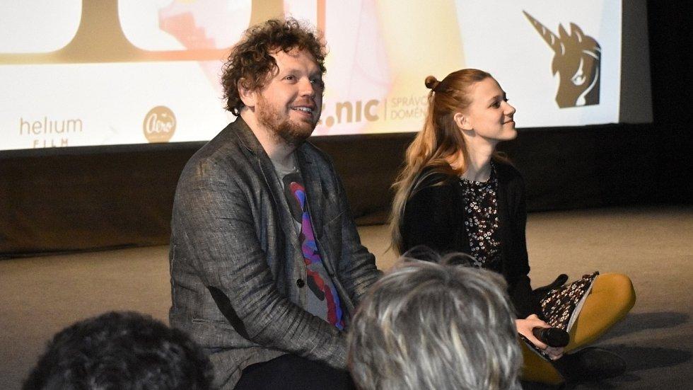 Speciální projekce filmu V síti, byla ve čtvrtek okořeněna osobní účastí režiséra Víta Klusáka a herečky Terezy Těžké. 5.3. 2020