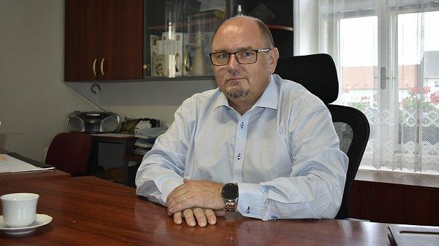 Jan Vrána je starostou Němčic nad Hanou od roku 2018.