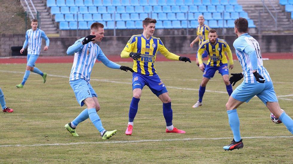 Sport fotbal FNL FK Varnsdorf vs. Prostějov. Roman Bala. Foto: Tomáš Secký