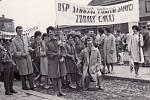 Brigáda socialistické práce Strojně početní stanice slavila 1. Máj
