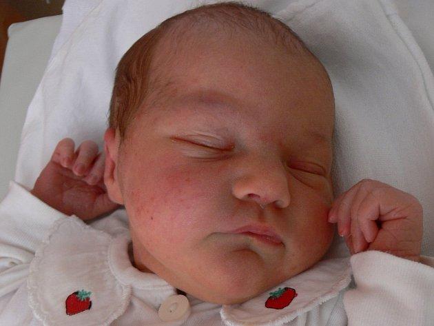 Lenka Sitová, narozena 1. července 2008 v Prostějově, bydliště Jesenec