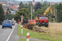 Dělníci začali pracovat na dlouho očekávaném dokončení cyklistezky do Žešova.