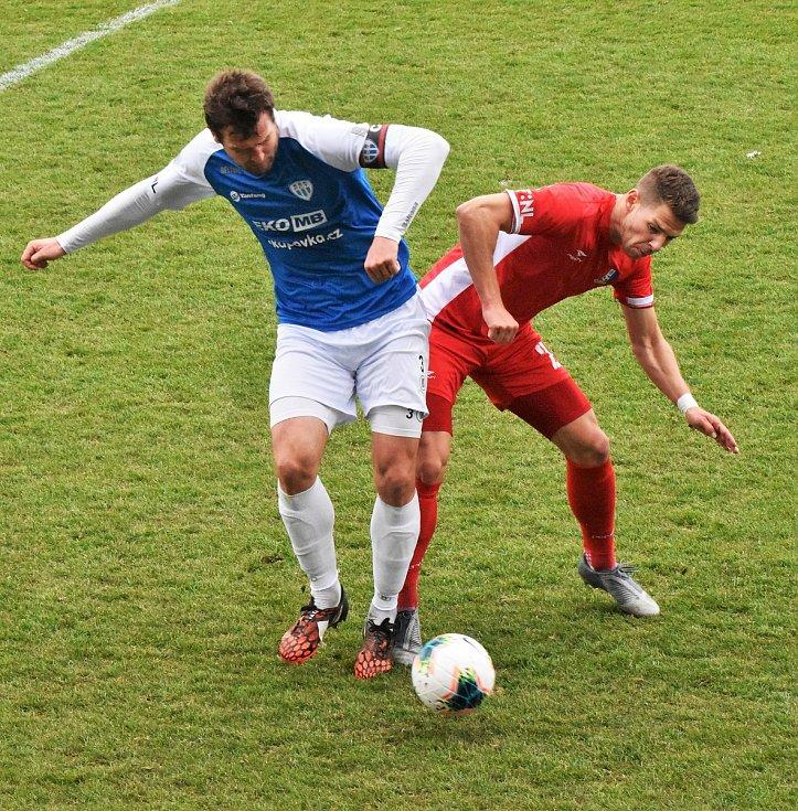 FC MAS Táborsko - FK Blansko 1:0.