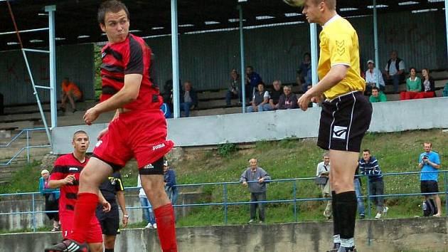 Fotbalisté Konice proti Uherskému Brodu