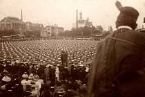 Sokolský slet 1908