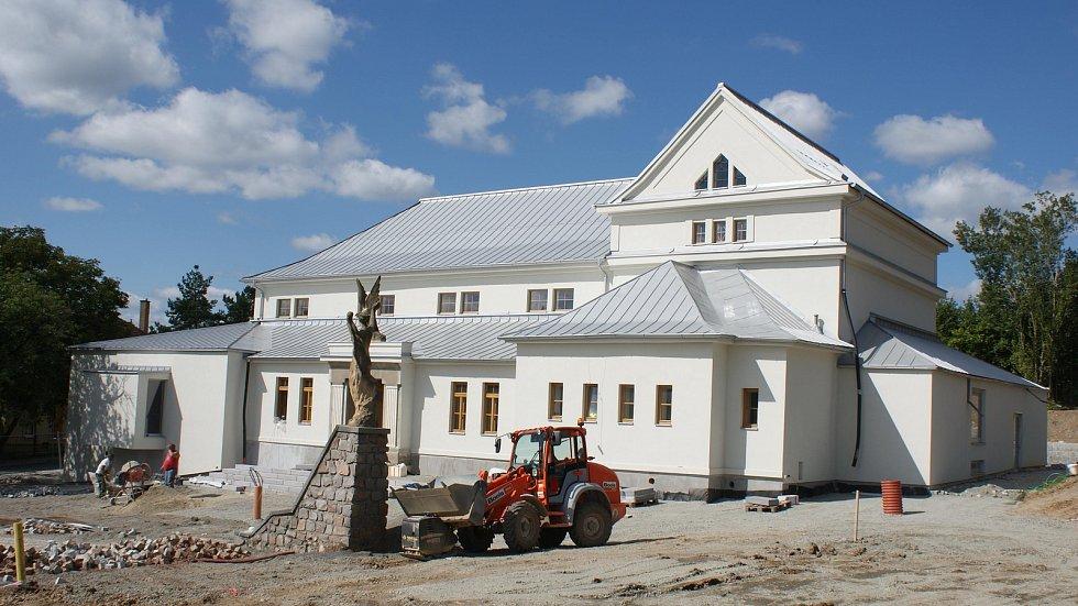 Výstavba komunitního centra v Konici - 14. září 2019