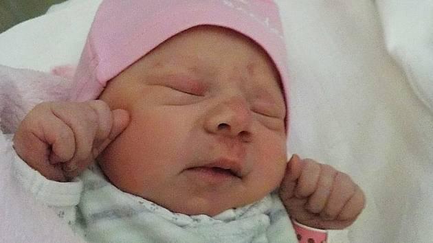 Elen Jarošová, Hrubčice, narozena 23. března 2021 v Prostějově, míra 50 cm, váha 3250 g