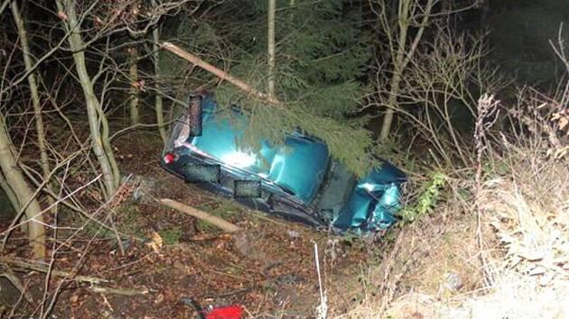 Dvě ženy se zranily při nehodě na drahanském kopci.