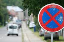 Zákaz zastavení v Ohrozimské ulici v Plumlově - 27. 6. 2020