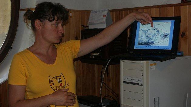 Den otevřených dveří na meteoradaru u Protivanova v roce 2010