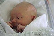 Tobiáš Kratochvíl, Určice, narozen 26. října v Prostějově, míra 51 cm, váha 3050 g