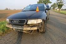 Pokory se policisté u nehody nedočkali. Opilý řidič naopak obvinil hlídku z opilosti.