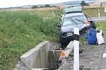 Nehoda na D46 u obce Brodek u Prostějova. 2.8.2020