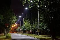 Led lampy v Jungmannově ulici