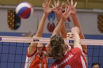 Prostějov (v červeném) vs. Olomouc