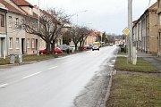 Vrahovická ulice v Prostějově