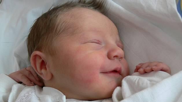 Kateřina Elnerová, Vrbátky narozena 8. ledna v Prostějově, míra 49 cm, váha 3350 g