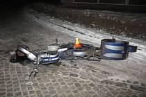 Nehoda v Pivíně. Motocyklista srazil chodkyni