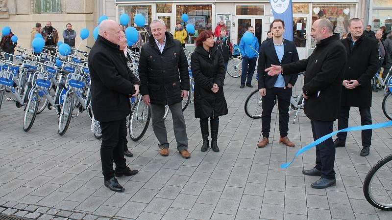 Start projektu sdílených kol v Prostějově