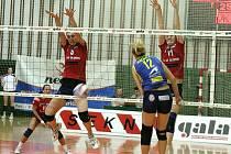 Prostějovské volejbalistky prohráli i v druhém semifinálovém utkání.