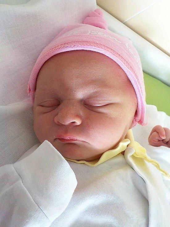 Eliška Vychodilová, Kladky, narozena 8. dubna 2021 v Prostějově, míra 50 cm, váha 3350 g