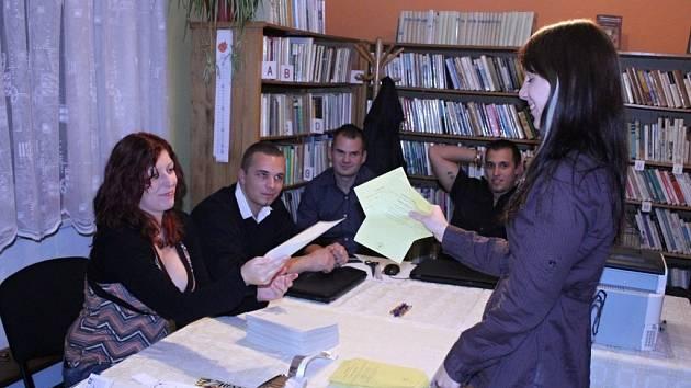 Druhé kolo senátních voleb ve Vranovicích