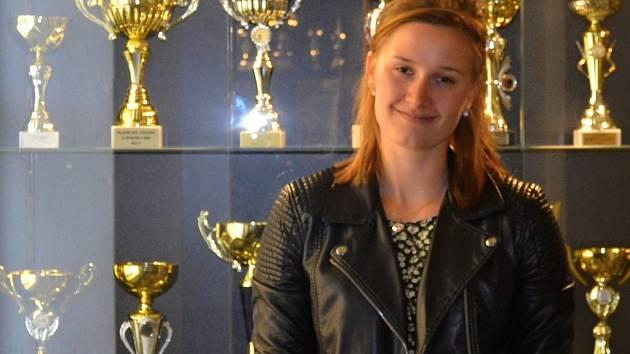 TALENT. Kristýna Adamčíková je obrovský talent českého volejbalu, ale nezahálí ani ve škole. Odmaturovala s vyznamenáním a těší se na studium architektury.