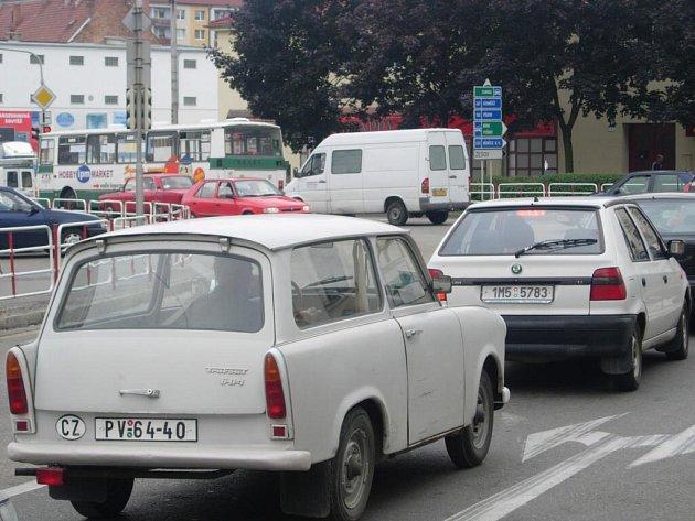 Ucpané křižovatky jsou jedním z hlavních problémů Prostějova.