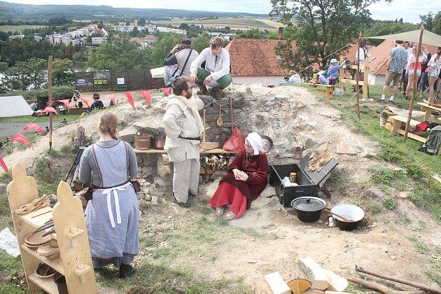 Šermířský víkend 2017, zámek Plumlov