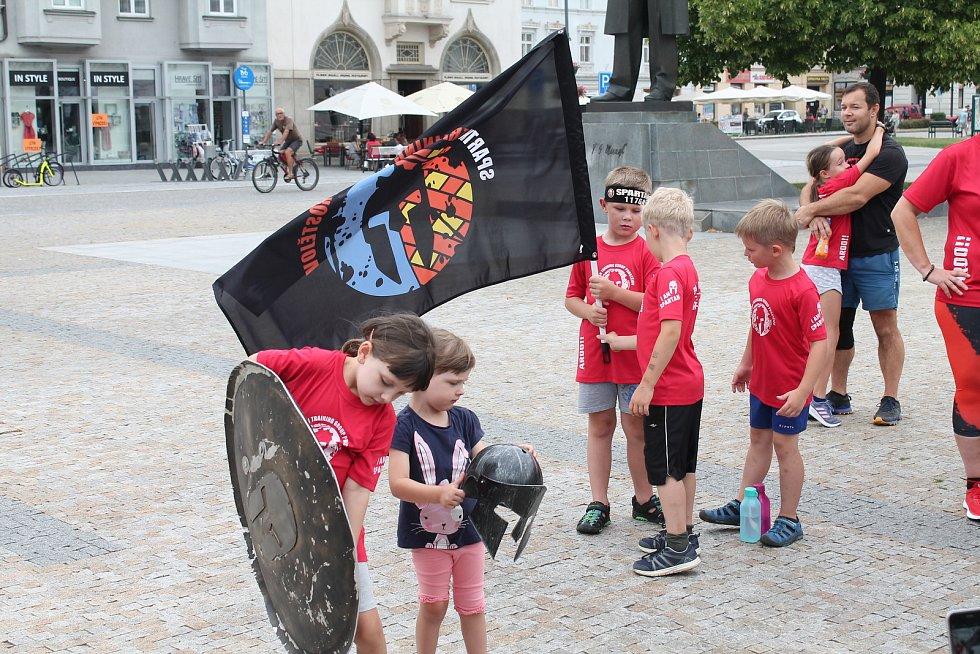 Spartanský štít doputoval i do Prostějova