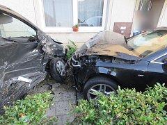 Při nehodě v Hrubčicích se zranila jedna žena.