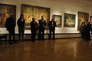 Perly české secese jsou od čtvrtka k vidění v prostějovském muzeu.