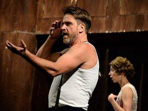 Představení Hamleti v rámci divadelní přehlídky APLAUS 2017