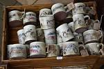 V Křenůvkách se uskutečnila prodejní výstava keramiky hned čtyř hrnčířů z celé Moravy.