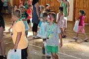 Pasování olšanských předškoláčků na školáky. 21.6. 2019