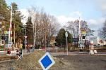 Nové závory na cyklostezce u Sladkovského ulice