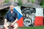 street art umělec Dalibor Vybíral