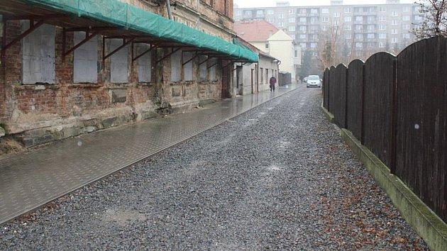 Ulice Předina v Prostějově. Ilustrační foto