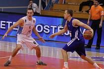 Prostějovští basketbalisté proti MMCITe Brno